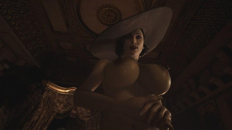 Alcina Dimitrescu nue dans Resident Evil Village 07