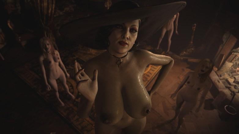 Alcina Dimitrescu nue dans Resident Evil Village 08