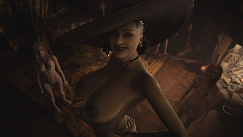 Alcina Dimitrescu nue dans Resident Evil Village 09