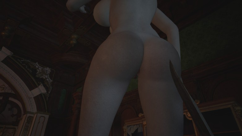 Alcina Dimitrescu nue dans Resident Evil Village 12
