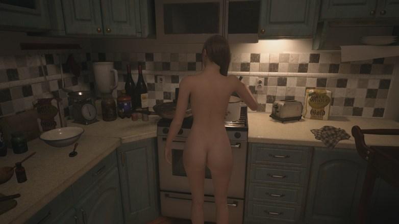 Mia Winters nue dans Resident Evil Village 04