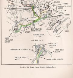 1967 headlight vacuum line routing early  [ 2168 x 2740 Pixel ]