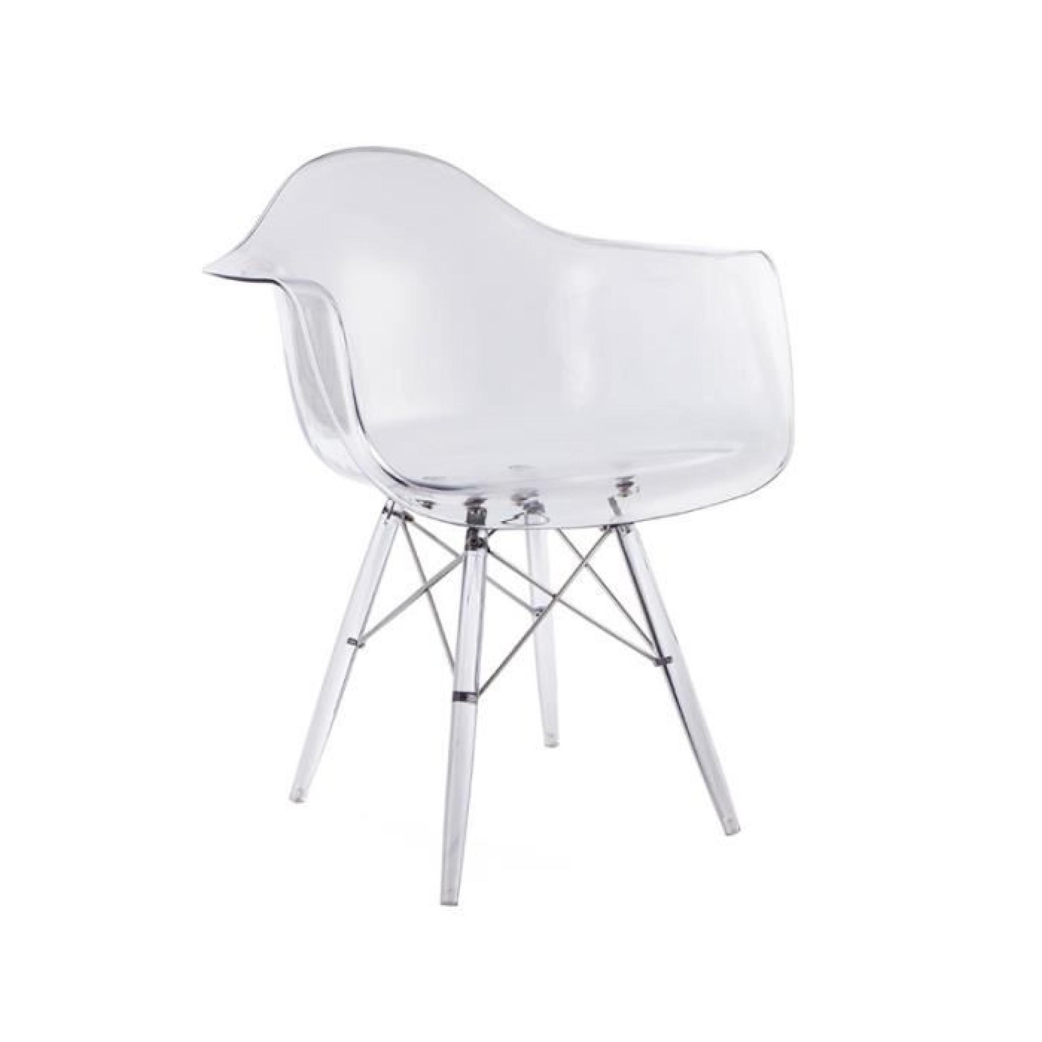 Chaise DAW All Ghost Transparent AchatVente Chaise