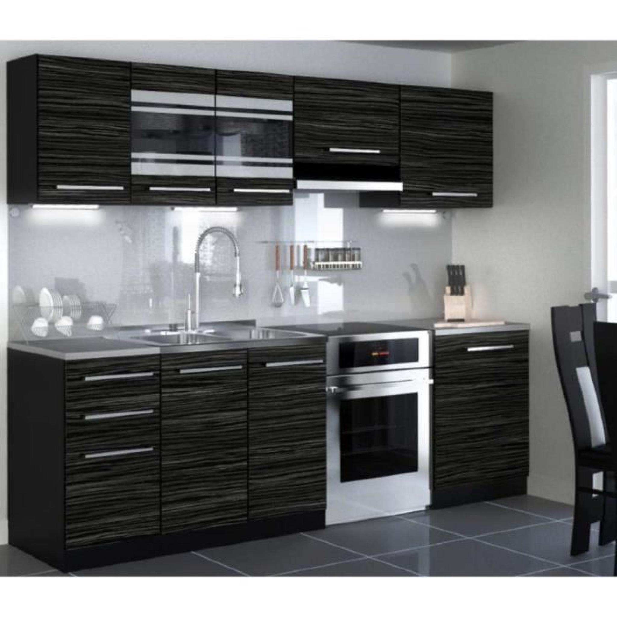 Cuisine Equipee Complete But Justhome Torino Led Cuisine Equipee Complete Cm Modele De