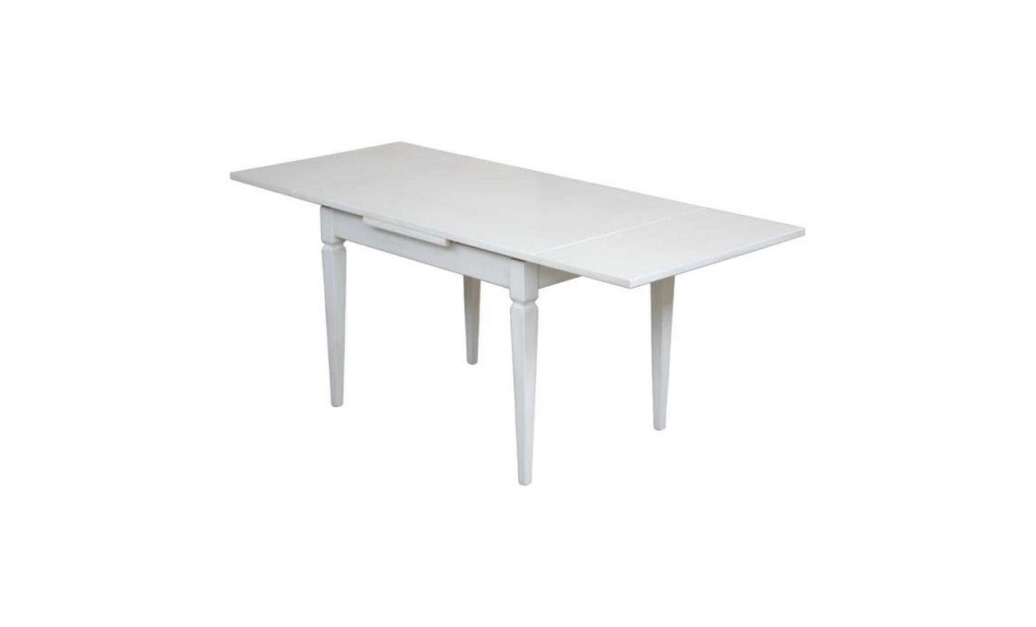 table laquee avec rallonges achat vente table salle a manger pas cher couleur et design fr