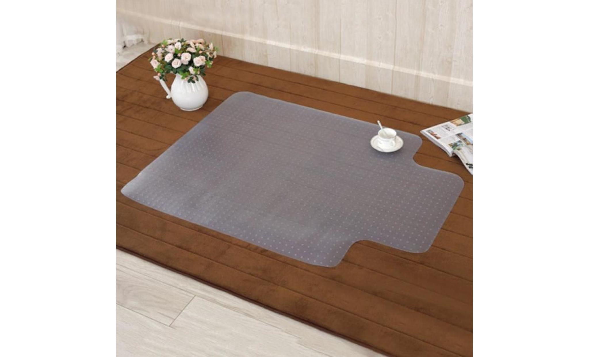 tapis de sol pour chaise fauteuil de bureau pvc transparant antiderapant 2 0mm120 90 achat vente fauteuil de bureau pas cher couleur et design fr