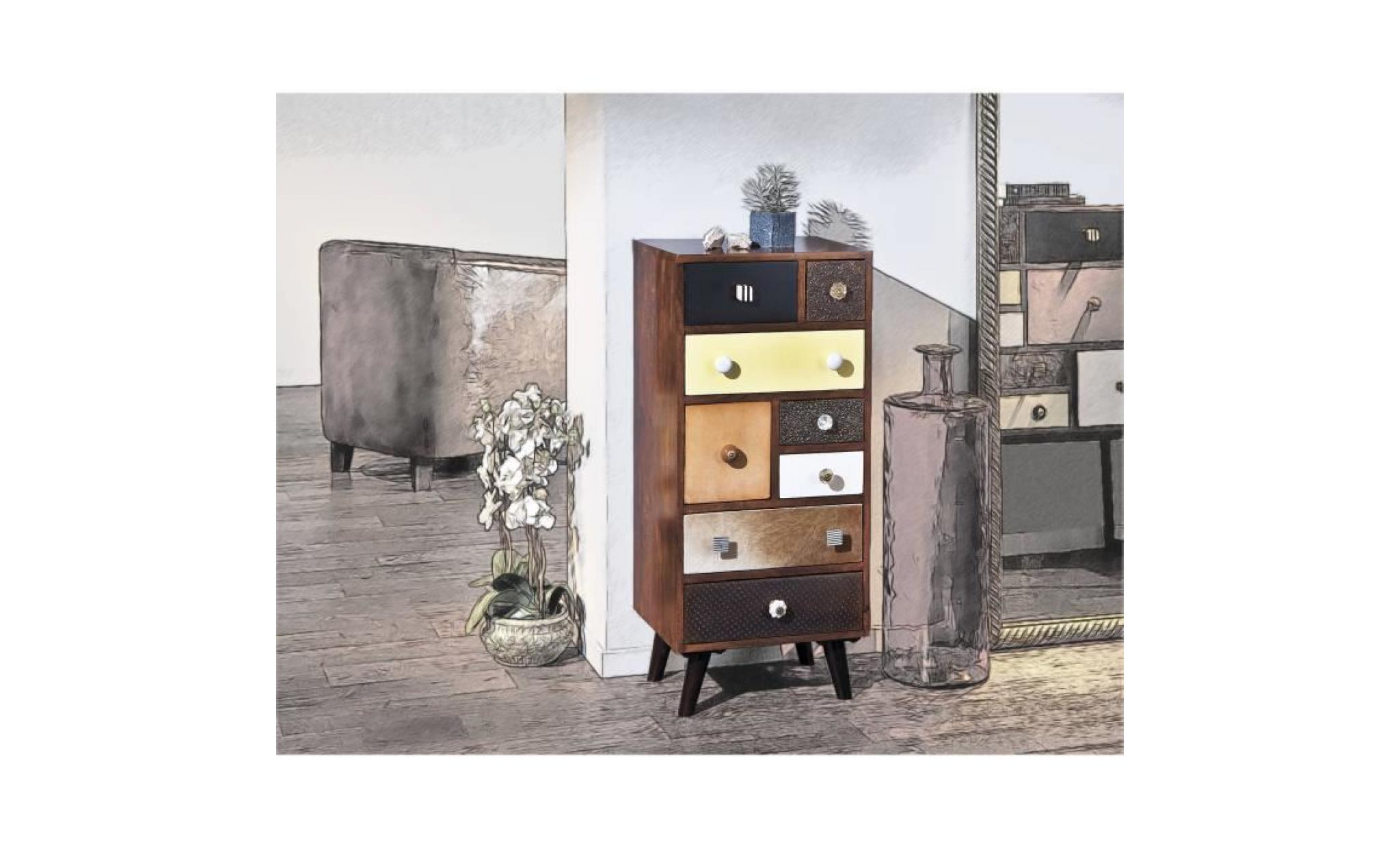commode vintage commode bois massif commode 8 tiroirs commode chambre adulte commode basse commode apothicaire rangement achat vente commode pas cher couleur et design fr