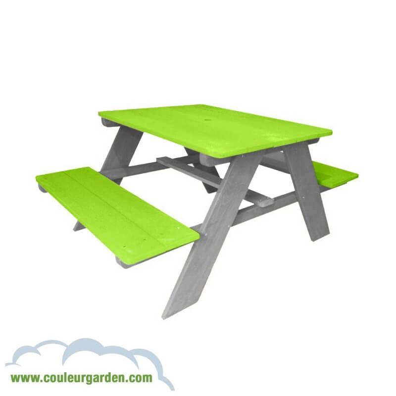table de pique nique pour enfants