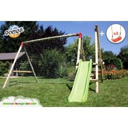 portiques en bois pour enfants