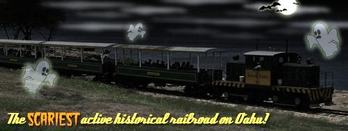 Hawaiian Railway Society - Spookapalooza 2013