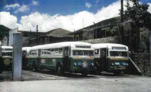 bill, 69, bus, exterior, advertising, historical, honolulu, city