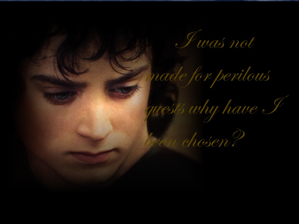 Samwise Gamgee Quote Wallpaper Frodo Quotes Quotesgram