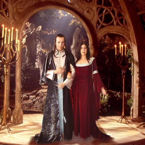 Council Of Elrond LotR News Amp Information Elrond And Arwen