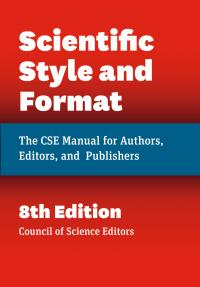 Scientific Style And Format Council Of Science Editors