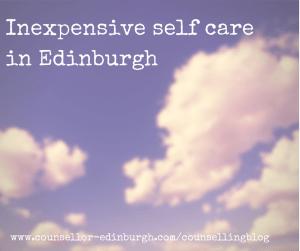 Self Care in Edinburgh