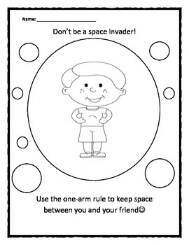 Mindfulness : Personal Space Camp: Boy Space Invader