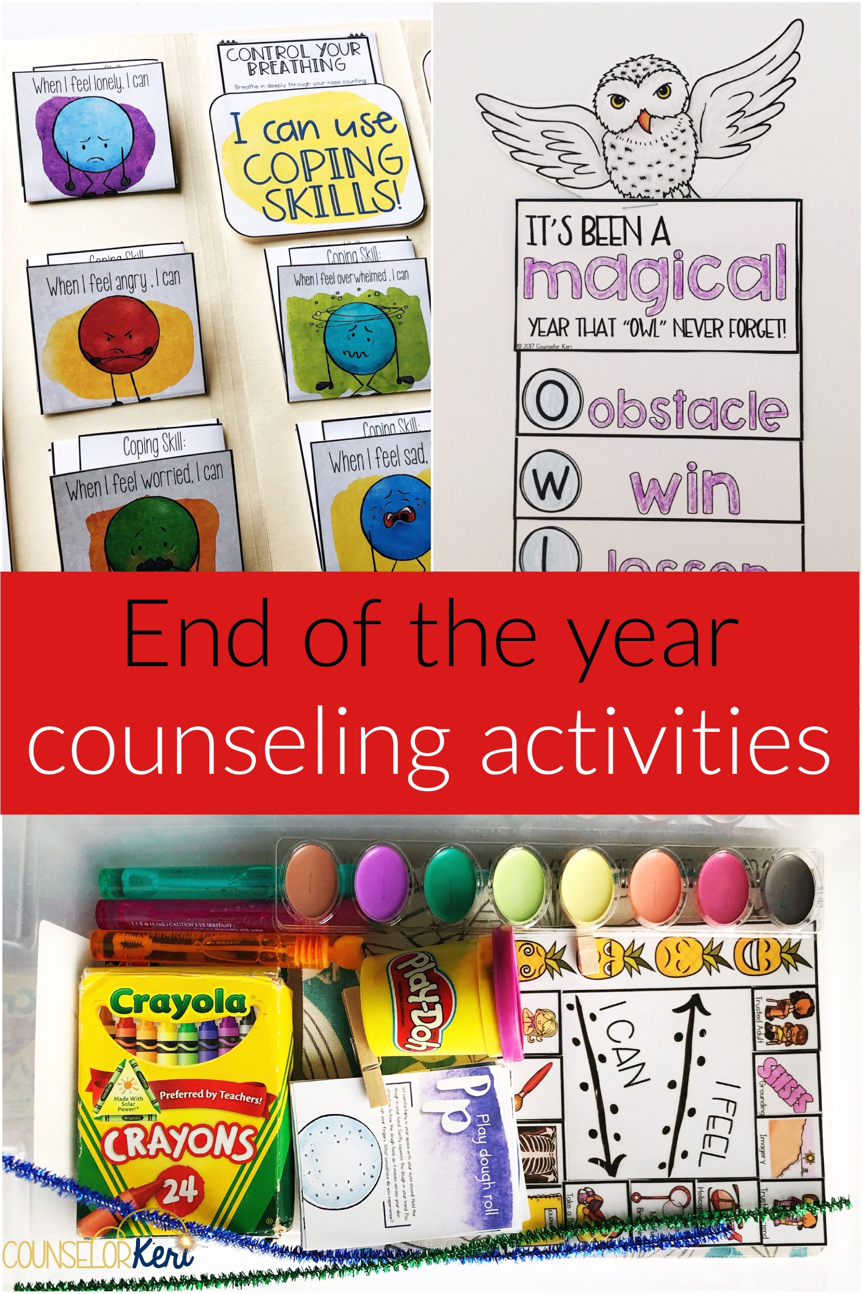 End Of The Year Counseling Activities For Classroom Guidance Or Groups