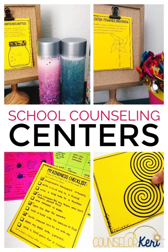 School Counseling Centers Using Centers In School Counseling Program