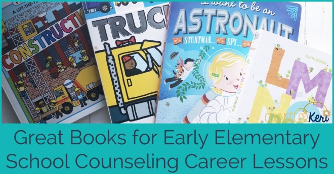 Books For Career Lessons Great Books For Your School Counseling