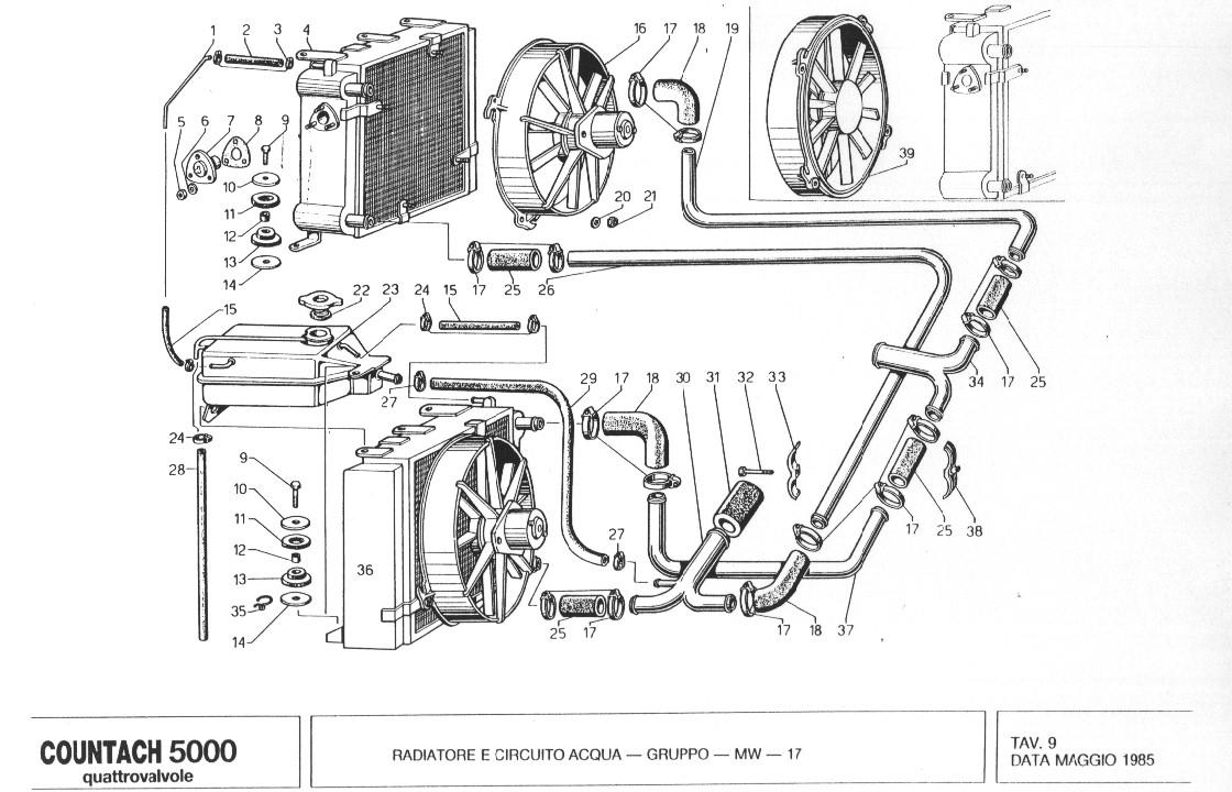 Service manual [1988 Lamborghini Countach Engine Timing