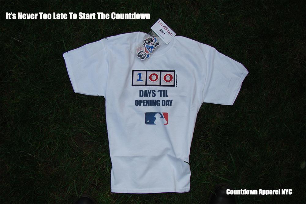 Baseball Countdown Tee