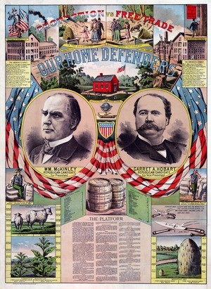McKinley Campaign Poster from 1896
