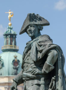 Statue of Frederick the Great in front of Schloss Charlottenburg