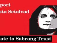 Support Teesta Setalvad: Donate To Sabrang Trust
