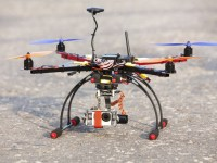 Multicopter with camera