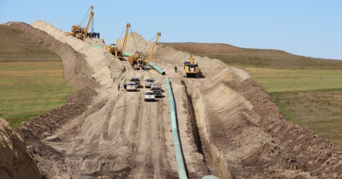 """DAPL was supposed to be so easy."" (Photo via The Leap)"