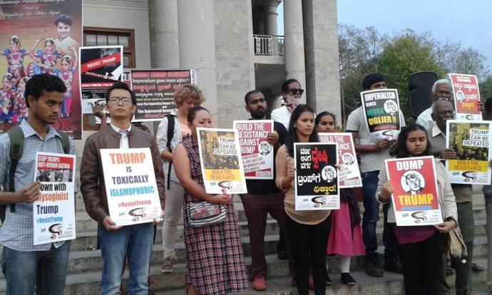 resist-trump-bangalore