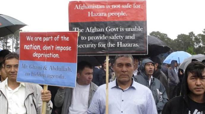 Hazara-Protesters
