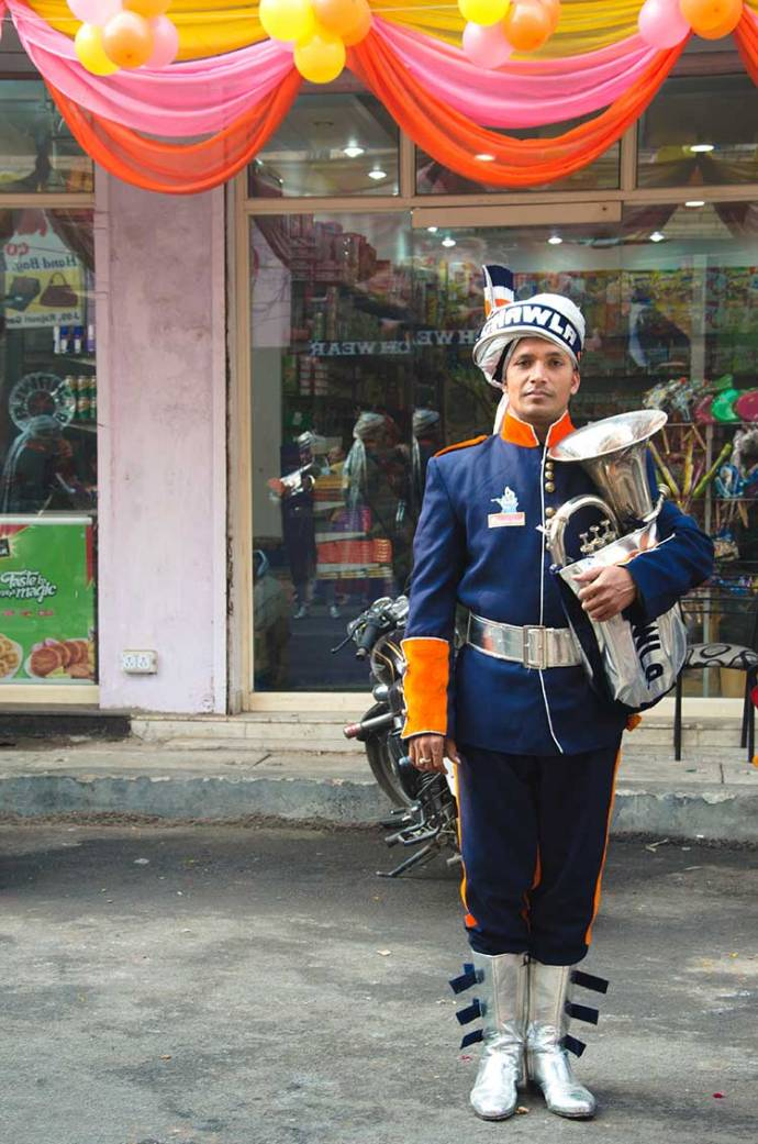 A member from the Chawla Band. Photo courtesy: Sadia Akhtar.