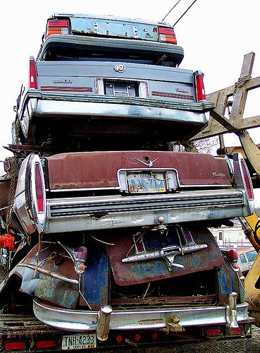 junk cars photo