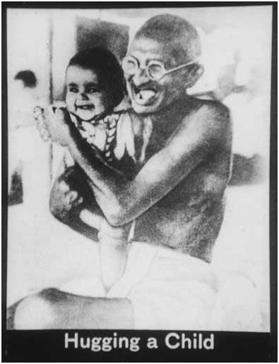 gandhi-hugging-a-child