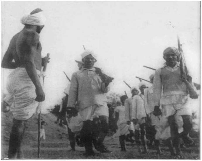 Photo (by Sunil Jena) : Peasant Revolutionaries of Telangana 1946-51