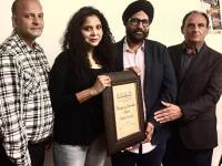Rana Ayyub Honoured In Canada