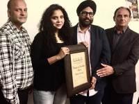 Rana Ayyub Honoured In Canada