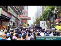 AHRC TV: Protests in Hong Kong Over Sentencing of Democracy Activists
