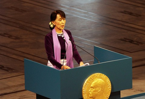 Message To Aung San Suu Kyi