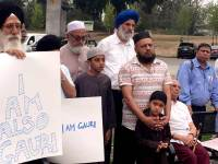 Rally For Gauri Lankesh Held In BC, Canada