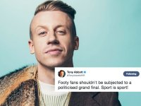 Macklemore And The NRL Grand Final: The Politics of Sports