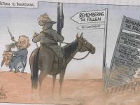 Cartoon:  Canberra Times, November 1, 2017