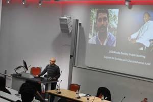 Solidarity Meeting In London For GN Saibabaand Chandrashekhar Azad