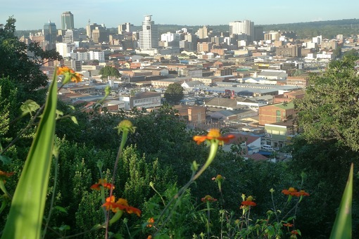 Harare from the mountains.