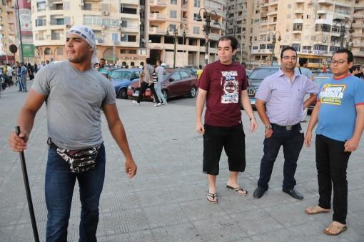 metal rod and the Muslim Brotherhood tough guys in Alexandria