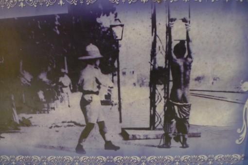 flogging on Punjabi man by British colonialist