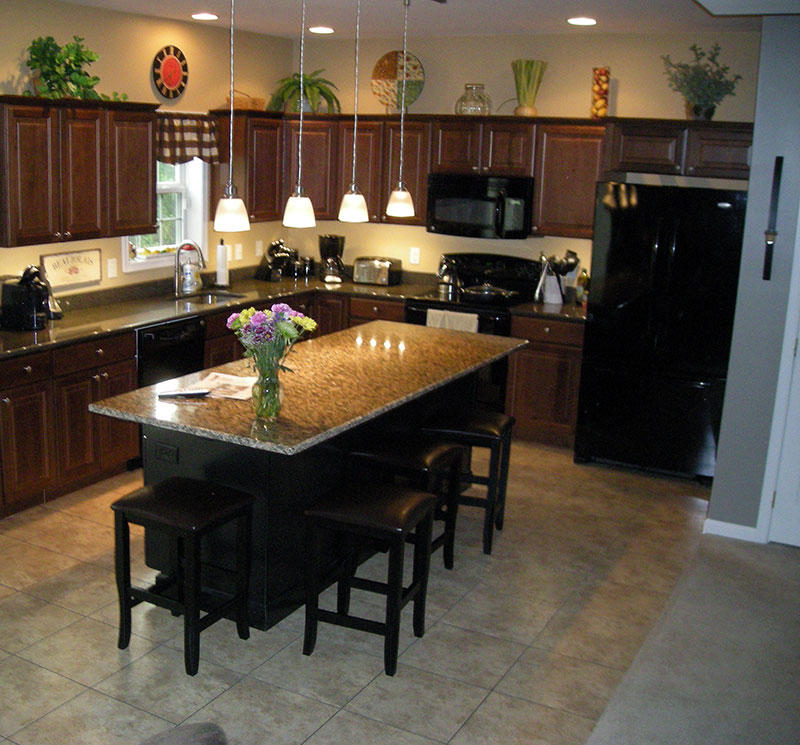 Kitchen Island With Overhang On Two Sides Kitchen Design