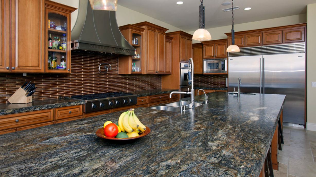 Merveilleux Mediterranean Style Granite Countertop Mccullough Design Development