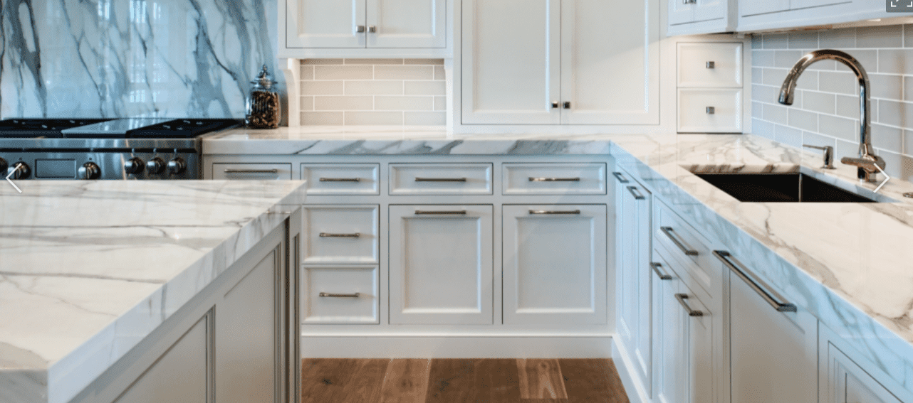 kitchen countertop cost unfinished oak cabinets how much do different countertops guides calacatta marble
